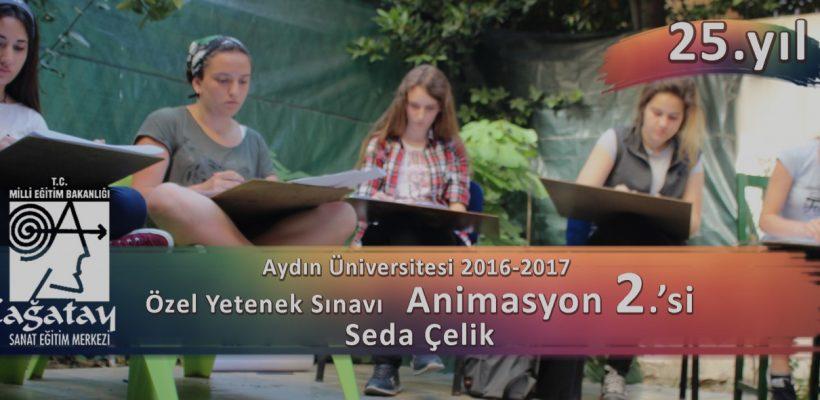 Aydın Üniversitesi Özel Yetenek sınavları Animasyon 2.si Seda Çelik